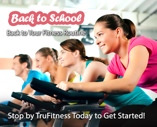 Back to School, Back to Your Fitness Routine